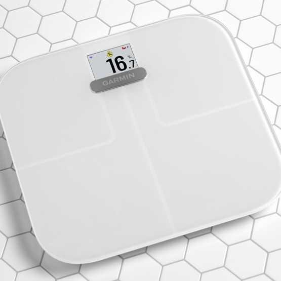 Интеллектуальные весы Garmin Index S2 Smart Scale, White (010-02294-03)