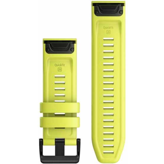 Ремінець для Fenix 6 22mm QuickFit Amp Yellow Silicone bands (010-12863-04)