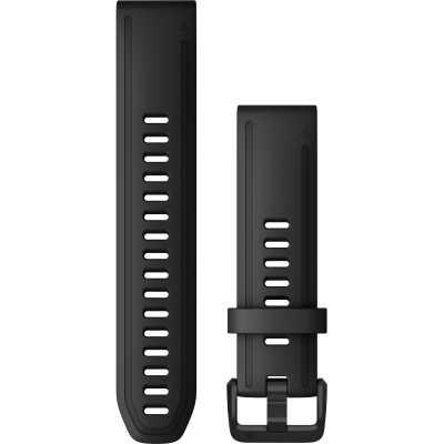 Ремінець для Fenix 6s 20mm QuickFit Black Silicone