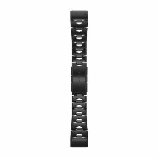 Ремешок для Fenix 6 22 QuickFit Vented Titanium Bracelet with Carbon Gray DLC Coating bands (010-12863-09)