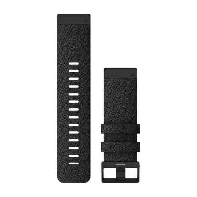 Ремешок для Fenix 6x 26mm QuickFit Heathered Black Nylon bands