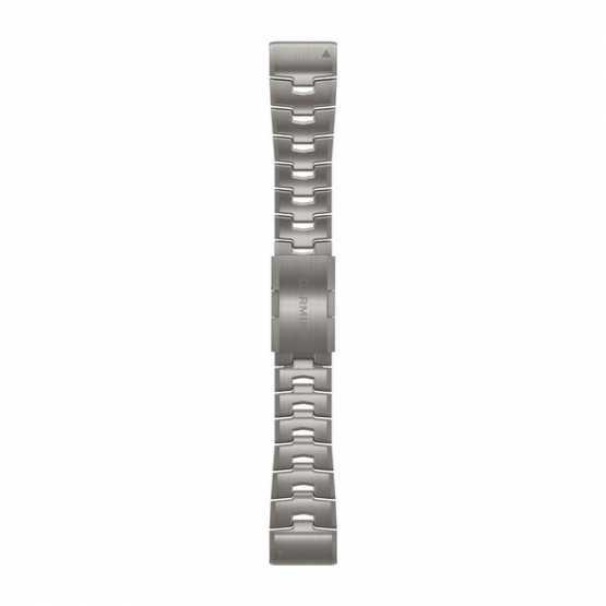 Ремешок для Fenix 6 22 QuickFit Vented Titanium Bracelet bands (010-12863-08)