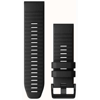 Ремешок для Fenix 6 22mm QuickFit Black Silicone bands