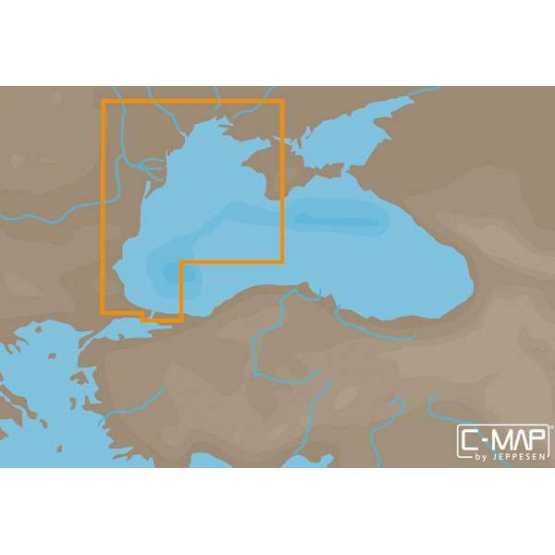 Карта С-МАР Западная часть Черного моря
