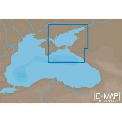 Карта С-МАР Азовское море, восточная часть Черного моря