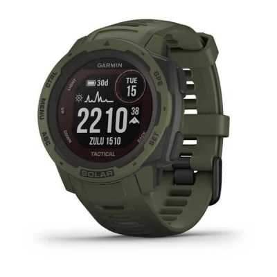 Часы Garmin Instinct Solar Tactical Edition Moss