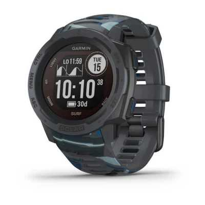 Часы Garmin Instinct Solar Surf Edition Pipeline