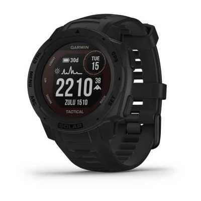 Часы Garmin Instinct Solar Tactical Edition Black