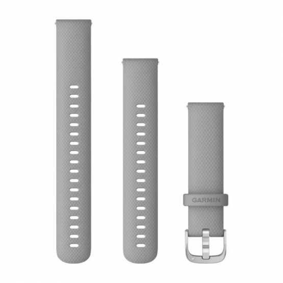 Ремінець для Garmin vivoactive 4S Small Powder Grey