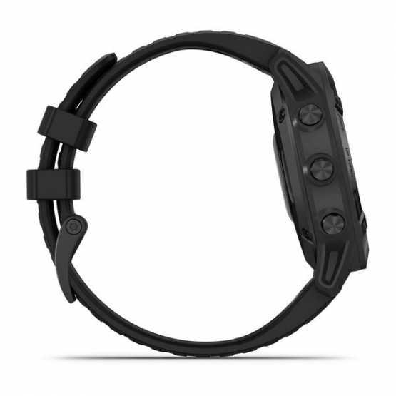 Годинник для мультиспорту Garmin Fenix 6 Pro Black with Black Band (010-02158-02)
