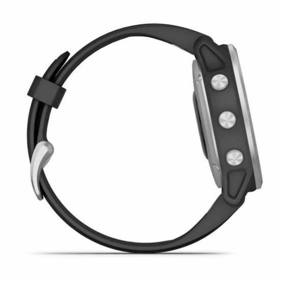 Часы для мультиспорта Garmin Fenix 6S Silver with Black Band (010-02159-01)