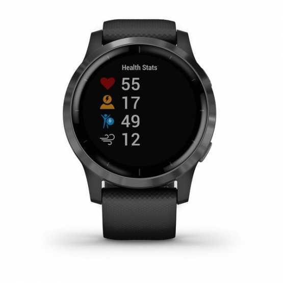 Часы для спорта Garmin vivoactive 4 Black/Slate  (010-02174-13)
