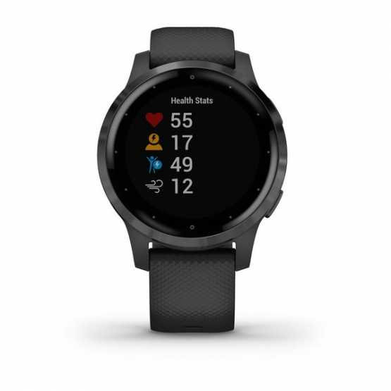 Часы для спорта Garmin vivoactive 4S Black/Slate  (010-02172-13)