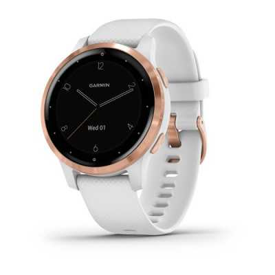 Часы Garmin vivoactive 4S White/Rose Gold