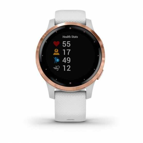 Часы для спорта Garmin vivoactive 4S White/Rose Gold  (010-02172-23)