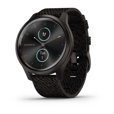 Garmin vivomove Style Gunmetal-Dark Gray Fabric