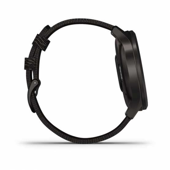 Часы для спорта Garmin vivomove Style Gunmetal-Dark Gray Fabric (010-02240-23)