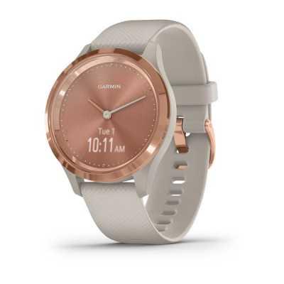Часы Garmin vivomove 3S Sport Rose-Tundra Silicone