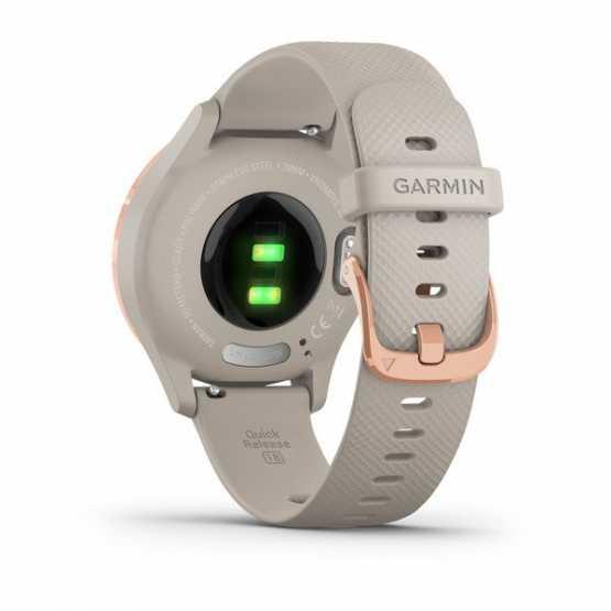 Часы для спорта Garmin vivomove 3S Sport Rose-Tundra Silicone (010-02238-22)