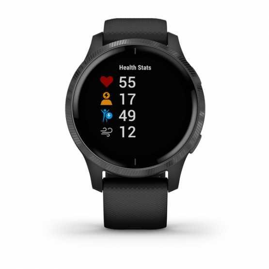 Часы для спорта Garmin Venu Black/Slate  (010-02173-13)