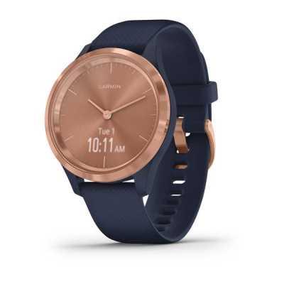 Часы Garmin vivomove 3S Sport Blue-Gold Silicone