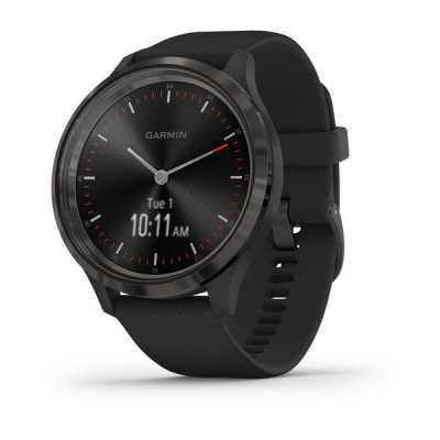 Часы Garmin vivomove 3 Sport Black-Gunmetal Silicone
