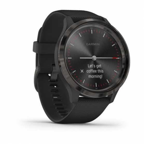 Часы для спорта Garmin vivomove 3 Sport Black-Gunmetal Silicone (010-02239-21)