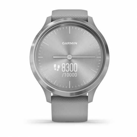 Часы для спорта Garmin vivomove 3 Sport Grey-Silver Silicone (010-02239-20)
