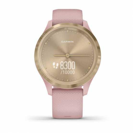 Часы для спорта Garmin vivomove 3S Sport Champagne-Rose Silicone (010-02238-21)
