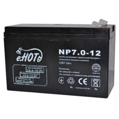 Аккумулятор для эхолота e.HOT 12V-7Ah