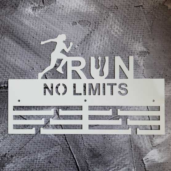 Медальница Run No Limits