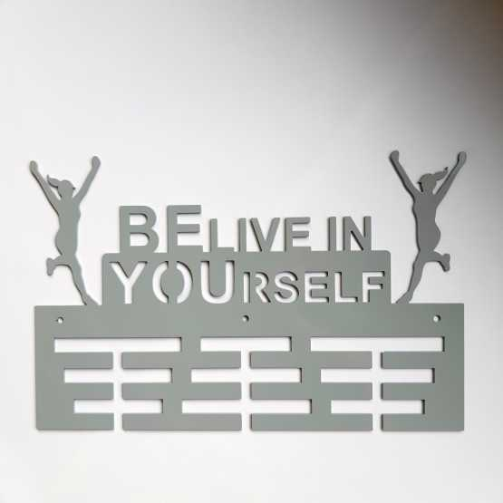 Медальница BE Live in YOUrself