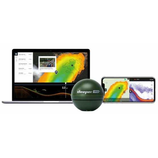 Беспроводный эхолот Deeper Chirp+WiFi+GPS+Sonar (ITGAM0279)