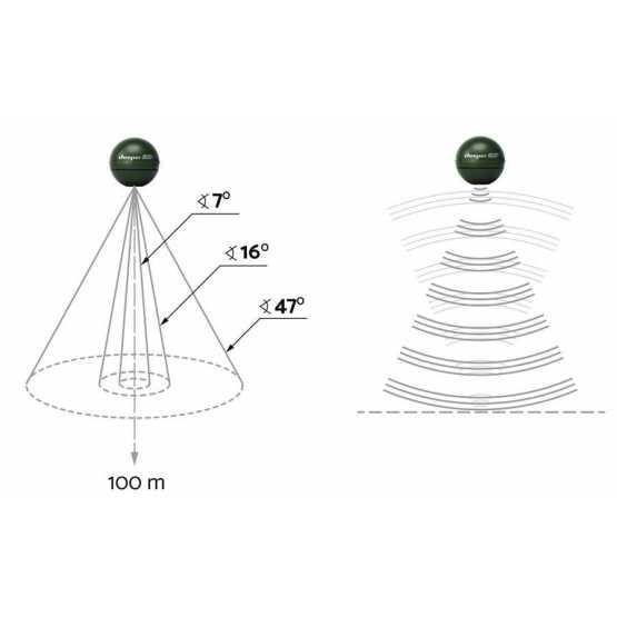 Беспроводный эхолот Deeper Chirp+WiFi+GPS+Sonar (DP3H10S10)