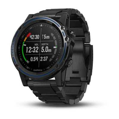 Garmin Descent Mk1 Carbon Gray with DLC Titanium band