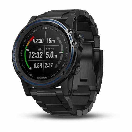 Часы для дайвинга Garmin Descent Mk1 Carbon Gray with DLC Titanium band (010-01760-11)