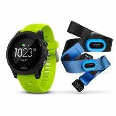 Garmin Forerunner 935, Black & Yellow Tri-Bundle