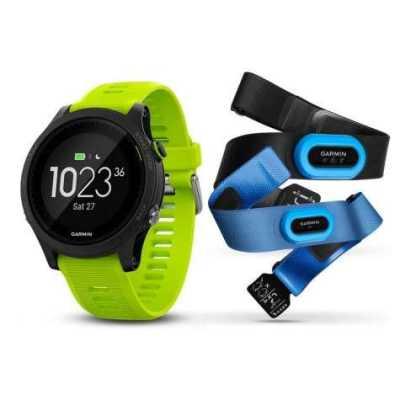 Garmin Forerunner 935 Black & Yellow Tri-Bundle