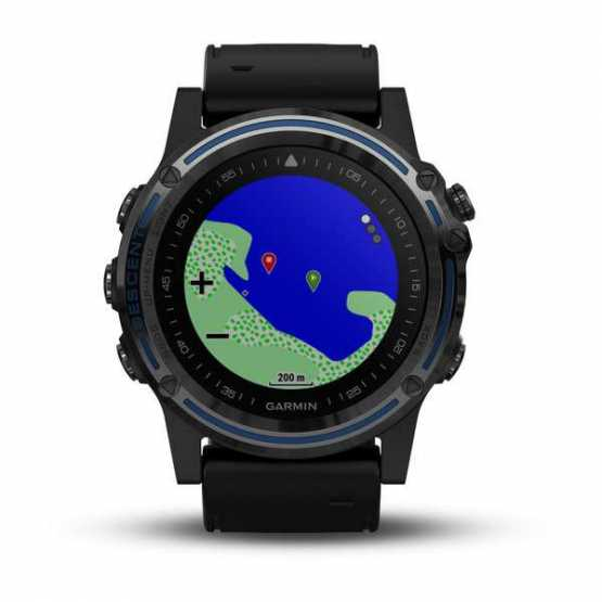 Часы для дайвинга Garmin Descent Mk1 Grey Sapphire with Black Band (010-01760-12)