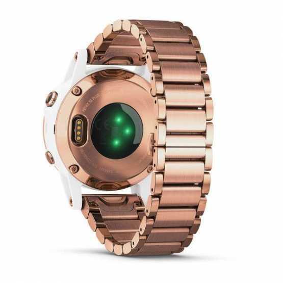 Спортивні годинник Garmin Fenix 5S Plus Sapphire Rose Gold-tone (010-01987-11)