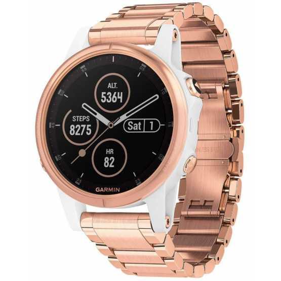 Спортивные часы Garmin Fenix 5S Plus Sapphire Rose Gold-tone (010-01987-11)