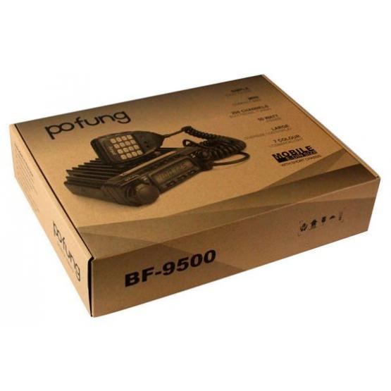 Автомобильная радиостанция Baofeng ( Pofung ) BF-9500 UHF