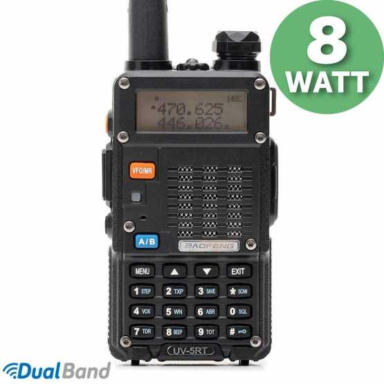 Рація Baofeng UV-5RT 8 Вт 2100 mAh Батарея