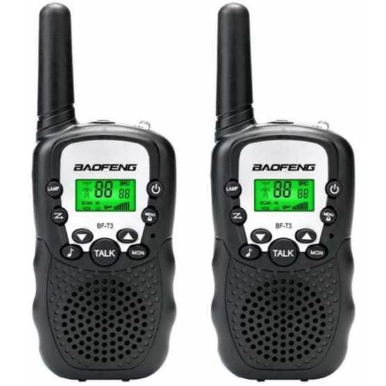 Рация Baofeng BF-T3 UHF Black (комплект x2)