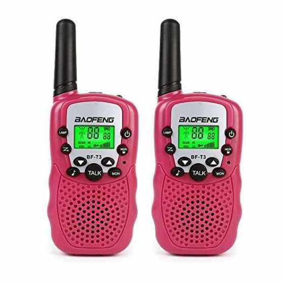 Рация Baofeng BF-T3 UHF Pink (комплект x2)