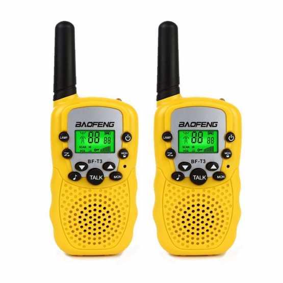 Рация Baofeng BF-T3 UHF Yellow (комплект x2)