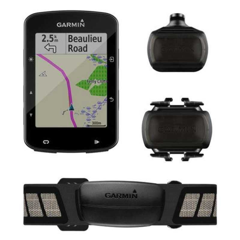 Велокомпьютер Garmin Edge 520 Plus Sensor Bundle