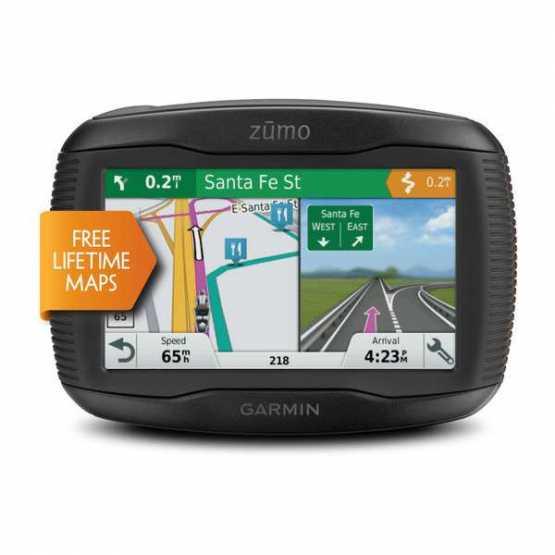 Мото навигатор Garmin Zumo 395 LM EU (010-01602-10)