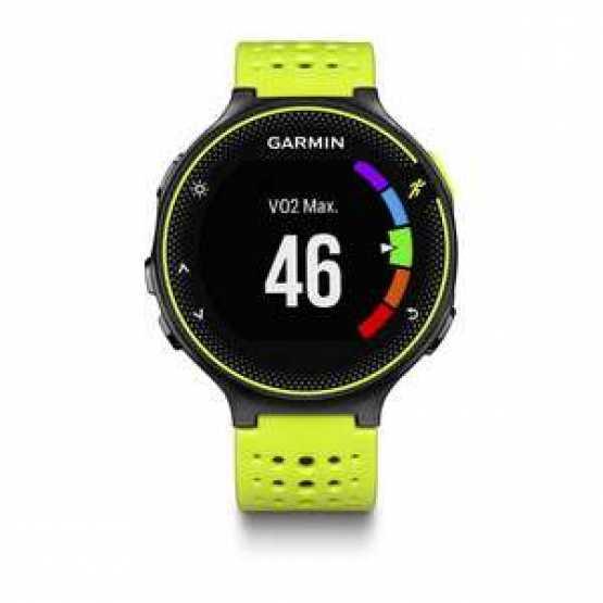 Часы для бега Garmin Forerunner 230, GPS, EU, Yellow & Black (010-03717-52)