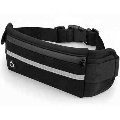 Сумка для бігу, Спортивна сумка на пояс EasyRun Влагостойкая Black